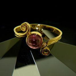 Ring mit rosa Turmalin