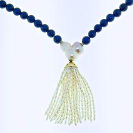 Lapis/Perlenkette