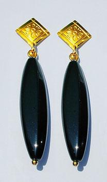 Ohrhänger mit Onyx