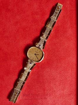 Uhrenarmband in 18 Kt. Gold & Brillanten