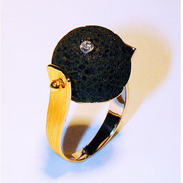 Ring Lava /Brillant