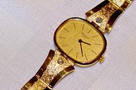 Uhrenarmband in 18 Kt. Gold & Brillanten, mit Magnetverschluss