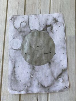 CARTE ORIGINALE Lune Argentée