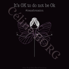 Carte Nenette It's OK to do not be OK