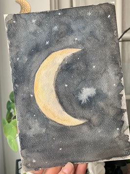Luna Aquarelle