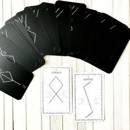 """Cartes """" Des Runes & Des Lunes"""""""