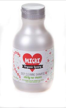 Michi Organic Luxury Deep Cleaning Shampoo Dirty No More