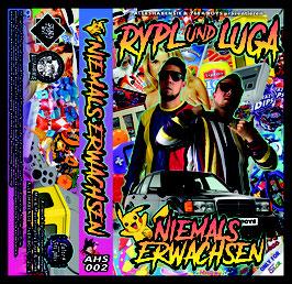 RYPL & LUGA - NIEMALS ERWACHSEN BUNDLE (CD+TAPE) (AHS002) 01.12.2018