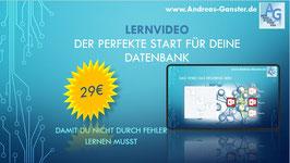 Online Video zum perfekten Datenbankstart