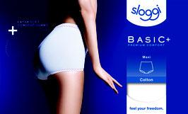 Dames Sloggi Basic+ Maxi * Zwart 4st