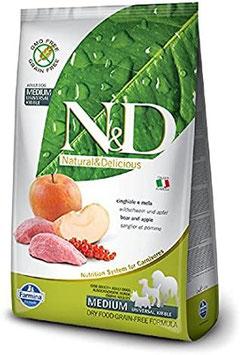 Farmina N&D Prime Wildschwein & Apfel (trocken)