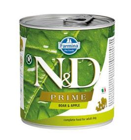 Farmina N&D Prime Wildschwein & Apfel (nass)