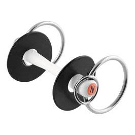 Nathe Standardgebiss 20 mm mit zusätzlichem kleinen Ring