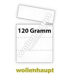 1.000 Bogen DIN A4 auf 120g-Papier mit je 4 KLT Etiketten / Warenanhänger nach VDA 4902 / VDA 4994 / GTL-Label
