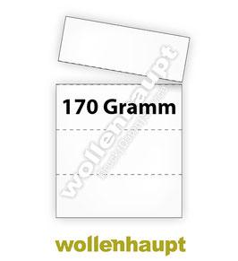 1.000 Bogen DIN A4 auf 170g-Papier mit je 4 KLT Etiketten / Warenanhänger nach VDA 4902 / VDA 4994 / GTL-Label