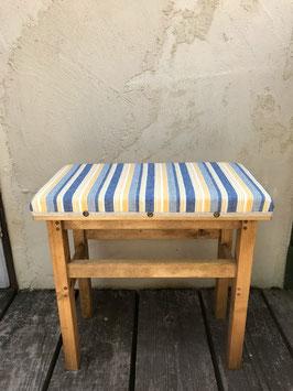 おとな椅子 オックスストライプ ブルー
