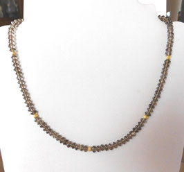 Rauchquarz Kette - Smokey quartz necklace
