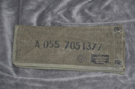 .30 caliber expended cartridge bag. French made.