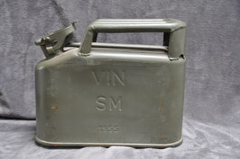 Wine container/ jerrycan. Dated '55.