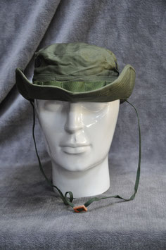 Hat, jungle, poplin rip-stop. Boonie. New old stock.