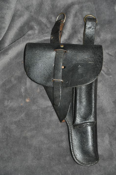 French model 1937 holster for the PA 1935 and 1948 GT. Gendarmerie.