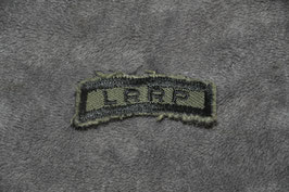 Local made LRRP tab. Subdued.