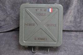 First aid kid box for vehicles/ 10 persons. Model '48.