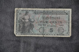 Military Payment Certificate Series 481.