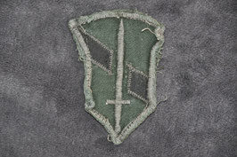 Local made 1 Field Force patch. Subdued.