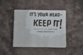 Manual for the use of paratrooper helmets.