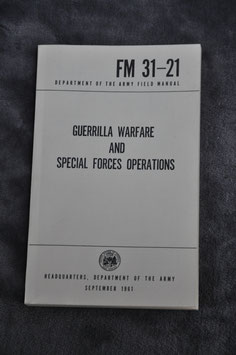 Guerrilla warfare and Special Forces Operations. 1961.