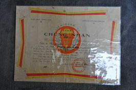 ARVN Lien Doan 77 Special Forces/ Airborne ranger certificate. Dated '64.