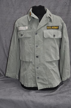 Very early HBT (Korean war era) advisor shirt.