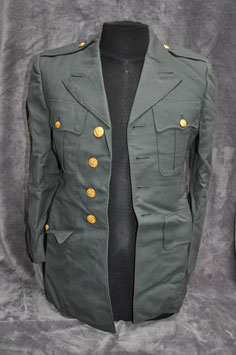 Class A jacket. Old Ironsides. '67. Staff sergeant.