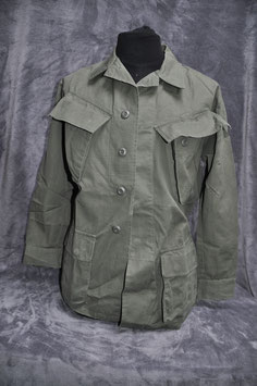 Coat, man's cotton w/r rip-stop poplin 3rd pattern OG-107. Dated '69.
