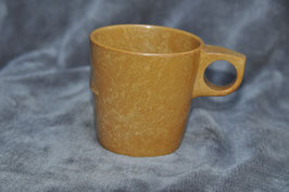 Bakelite canteen mug. Dated '61.