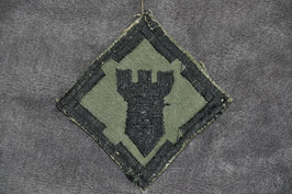 Local made 20th Engineer Brigade patch. Subdued.