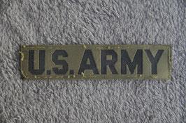 US Army tab.