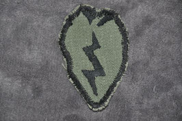 Local made 25th Infantry Division patch. Subdued.