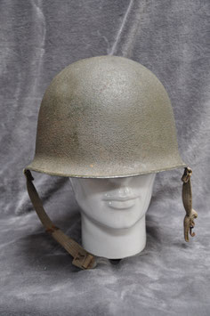 French M51 helmet with liner. Dated '56 and '58.