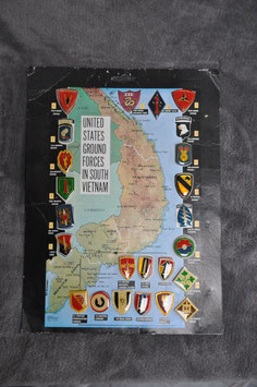 Carton with Division and Brigade pins.
