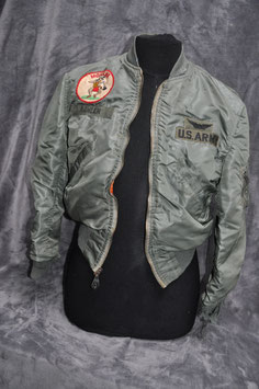 Jacket, flying, man's light dated '68. 1st aviation brigade. Mohawk.