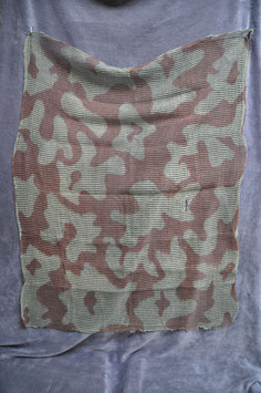 Late 1940's British camouflage scarf.