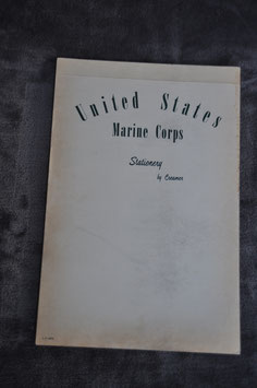 Notebook US Marine corps.