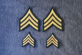 Sergeant rank insignia. Never used.