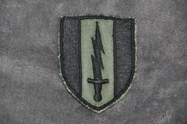 Local made 1st Signal Brigade patch. Subdued.
