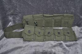 USMC M1923 dismounted cartridge. cal .30 belt. Jaren '50/'60.
