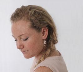 Herzensbund Ohrhänger mit Lemon Citrin