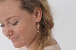 Herzensbund Ohrhänger mit Perle
