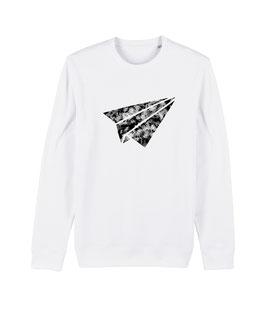 "be free ""Flyer"" – Unisex Sweatshirt ""white"""
